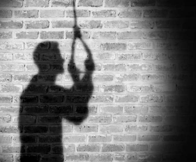 Suicide of a young man