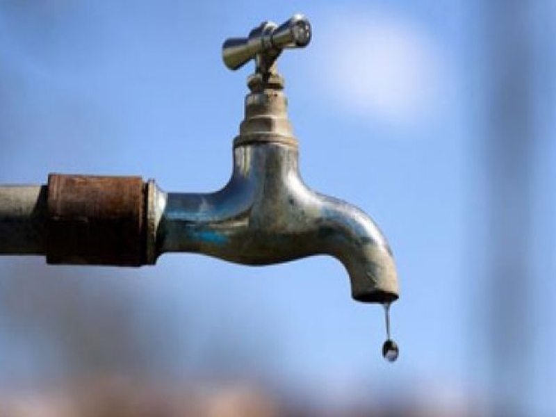 Water supply closed